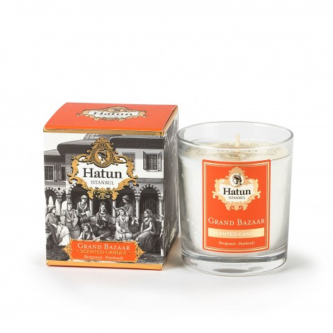 Grand Bazaar Sticker Candle
